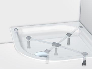 Neu Duschwannenfuß für Acryl- und Stahlwannen - mabo Sanitec GmbH PG63